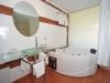 BATH ROOM IN DELUX ROOM RETHYMNO MARE